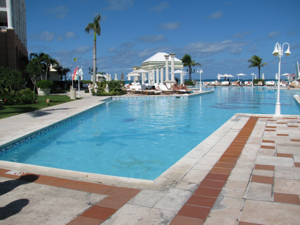 Main pool at Sandals Royal Bahamian