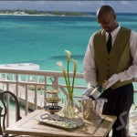 Your butler can arrange a romantic dinner on your private balcony!