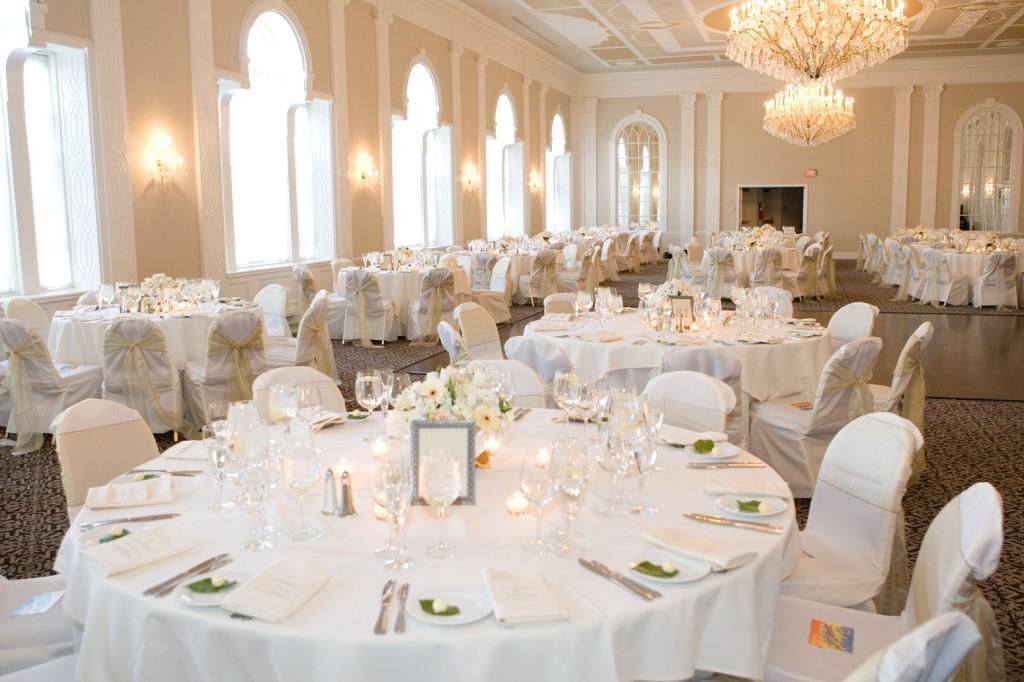 White And Silver Wedding Theme: White On White Wedding Decor