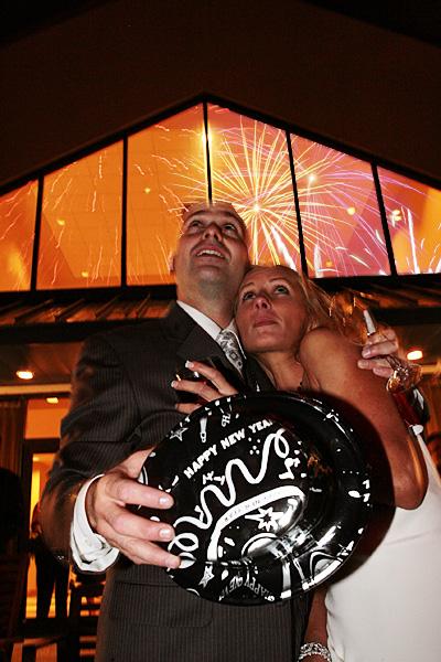 New Year's Eve Wedding.